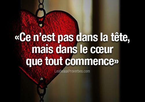 Tête et coeur...