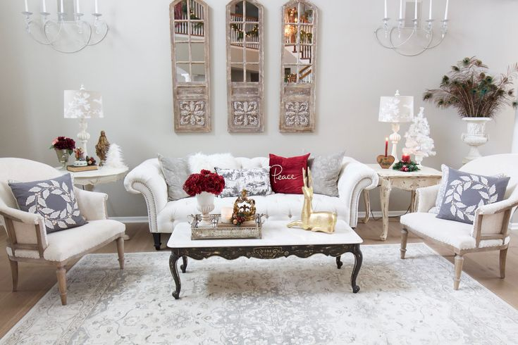 Living Room Decor In Burgundy A Burgundy and Blush ...
