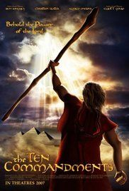 Ten Commandments Film 2007. In this animated adaptation of the Bible story Moses hears the voice of God from a burning bush, which inspires him to confront Egypt's pharaoh and demand freedom for the Israelite slaves. ...