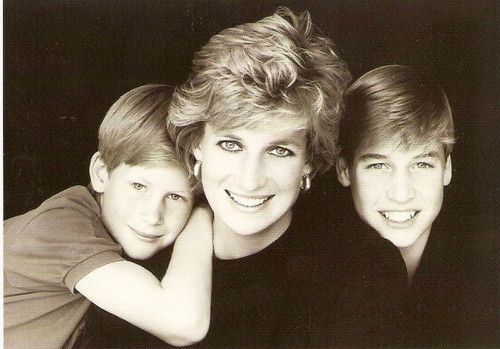 mother and sons.