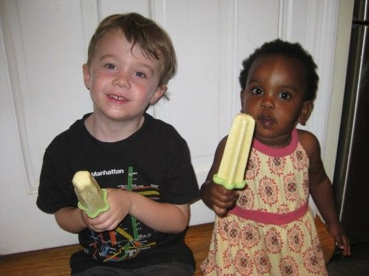 How to make Pina Colada Popsicles!