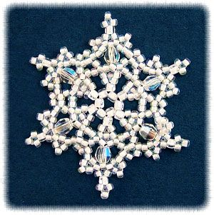 17 Best images about Beaded Snowflakes on Pinterest ...
