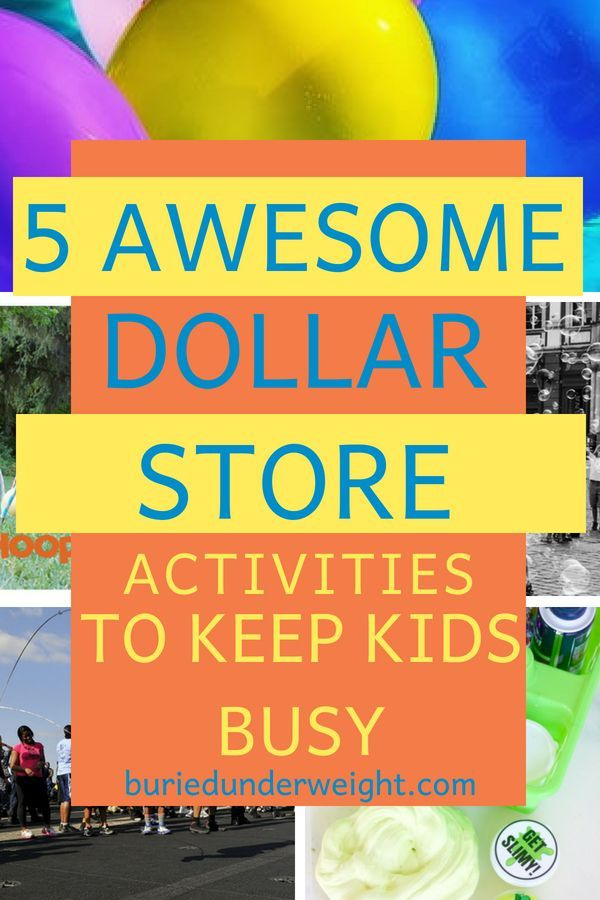 5 Insanely Fun End Of Summer Dollar Store Activities For Kids