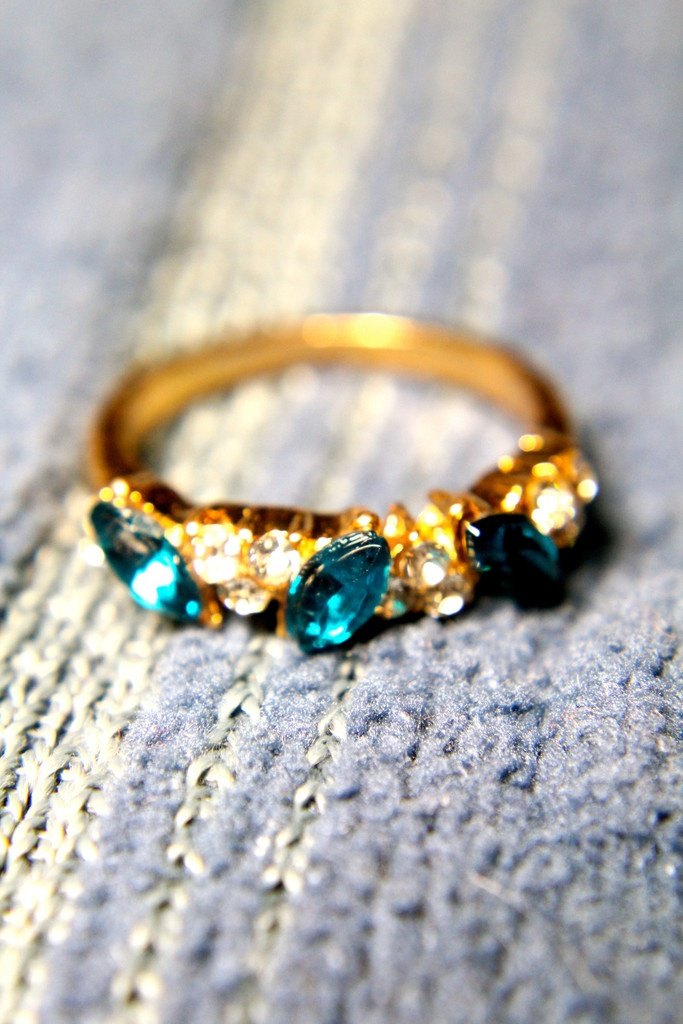 The Brilliant Sparkler Ring  This piece will surely get onlookers jealous!    Size 6.5  type: ring vendor: trinkettes  $4.99