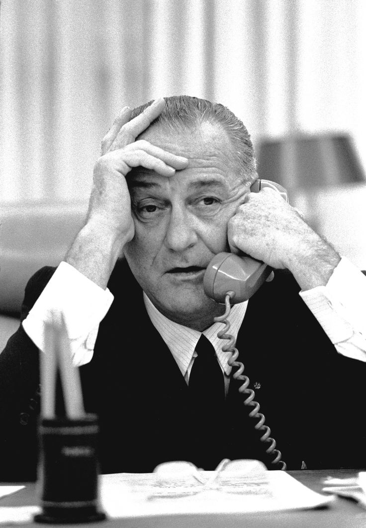 LBJ got a lot of men my age killed in Vietnam, for what?