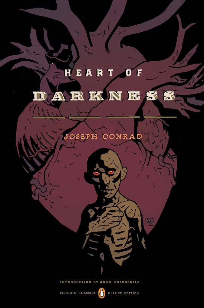 Conrad's Heart of Darkness with a Mike Mignola cover