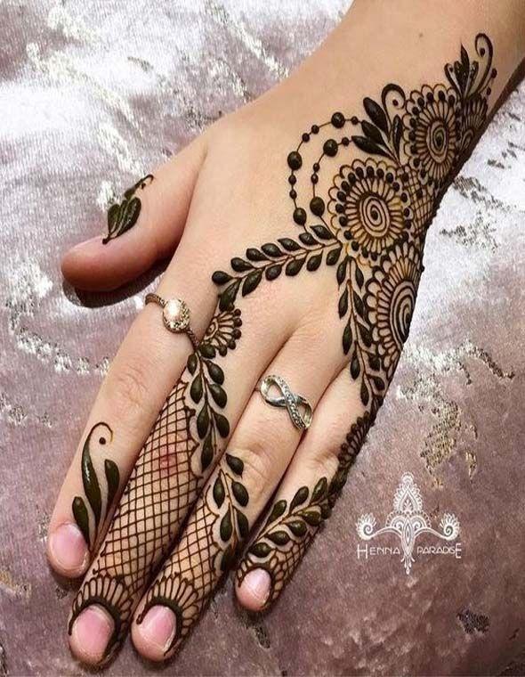 Simple Arabic Mehndi Design For Beginners 2018 Henna Art Mehndi