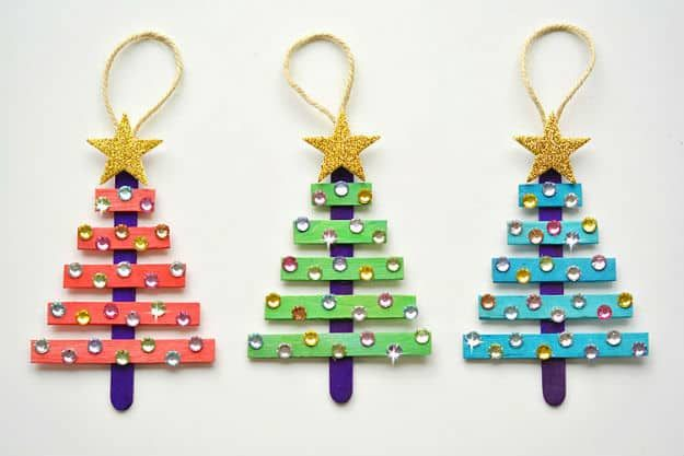 13 Easy Diy Christmas Ornaments For A Personalized Tree
