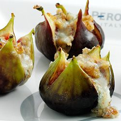 Baked Figs paired with Pilsners