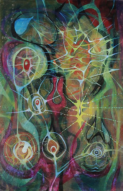 AnitaNH: Collage & Life: New Worlds of Surrealism. Artist Gerome Kamrowski