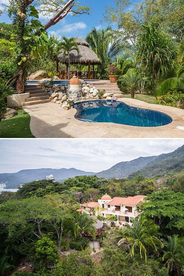Mexico Villa Rental With Gated Privacy Small Wedding Cheap Beach Wedding Luxury Villa Rentals