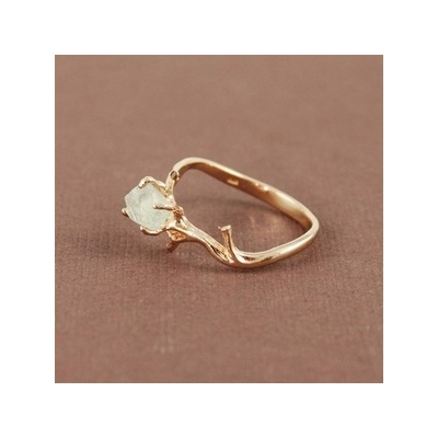 Natural Gem Ring: Wedding Ring, Style, Jewelry, Ancillary, Branch Ring, Engagement Rings