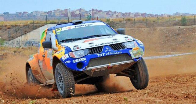 La pareja catalana ha conseguido la victoria en la Baja Andalucía-África, tercera prueba del Campeonato de España de Rallyes TT disputada entre Almería y la ciudad autónoma de Melilla. Resultado que les sitúa terceros en la clasificación general.