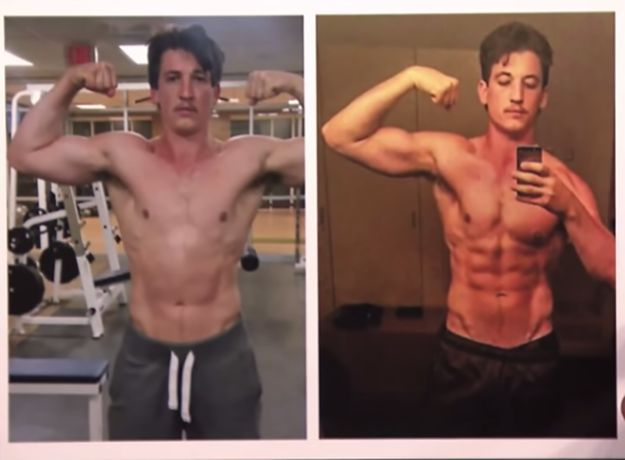 Let's take a closer look | Miles Teller Is Super Ripped Now And It's Too Much To Handle