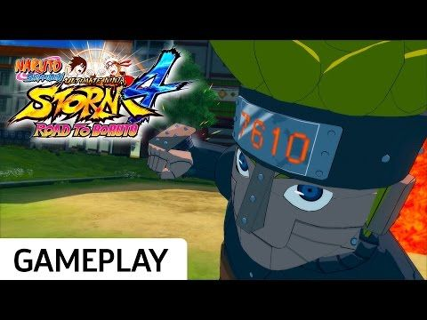 Mecha-Naruto vs. Sasuke - Naruto Shippuden: Ultimate Ninja Storm 4 Road to Boruto Gameplay
