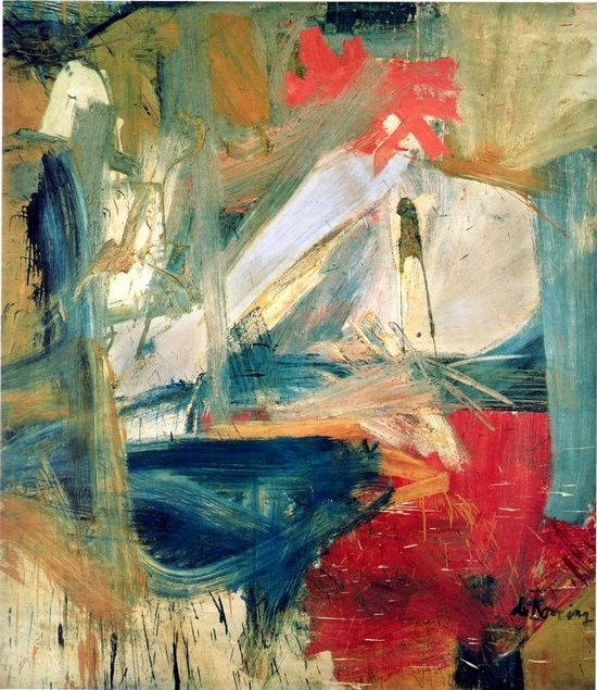kill the curator:    Willem de Kooning ... abstract expressionism is mostly a complete inexplainable mystery to me.