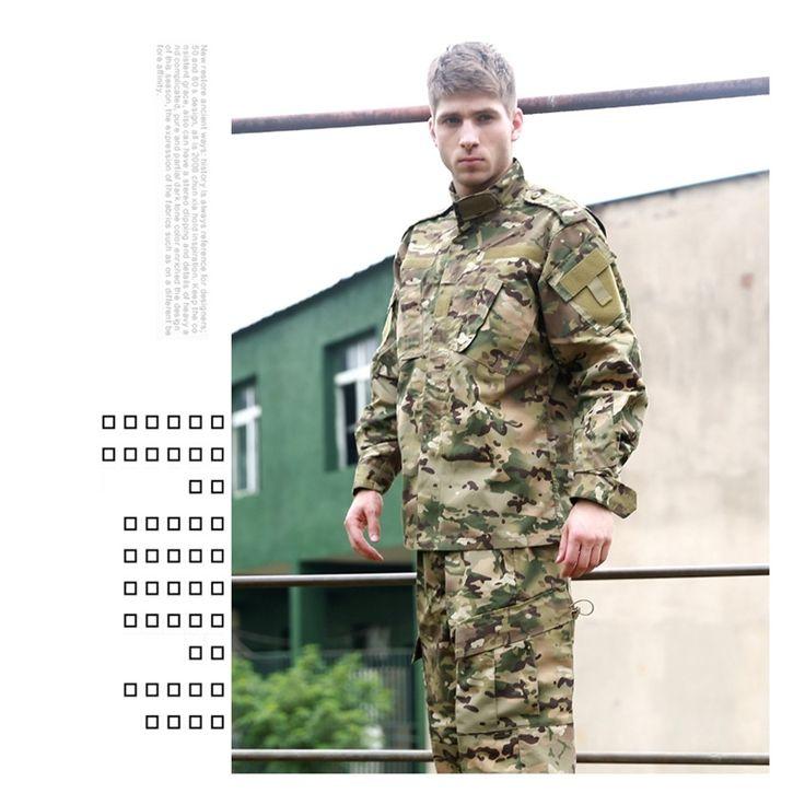 38.40$  Watch here - http://ali8z7.shopchina.info/1/go.php?t=32752733166 - Good Quality Men Women CP military tactical uniform jacket + pants long shirt pants uniform set outdoor hunting ghillie suits  #aliexpresschina