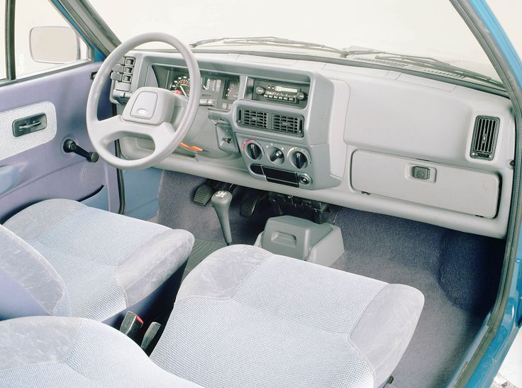 1983 Ford Fiesta interior