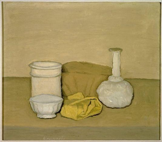 """Still Life"" (1952) oil on canvas by Giorgio Morandi Museum Of Modern Art / SF"