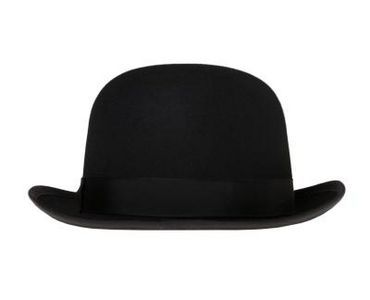 How to Make a Felt Doll Bowler Hat... so you can then turn it into a tricorn!