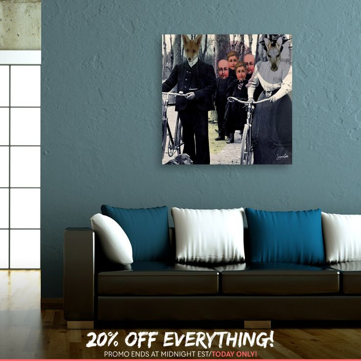 Discover «Incognito», Numbered Edition Canvas Print by Suzanne Carter - From $49 - Curioos