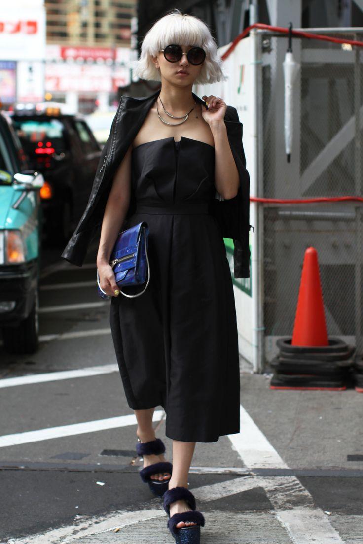 Street Style, Spring Summer 2016, Tokyo Fashion Week, Japan – 15 Oct 2015