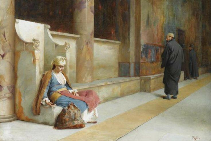 Ράλλης Θεόδωρος-Resting in a Greek Monastery