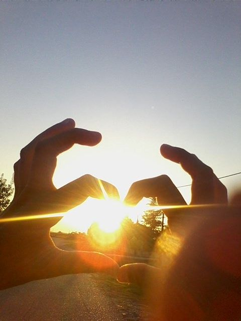 Heart with hand