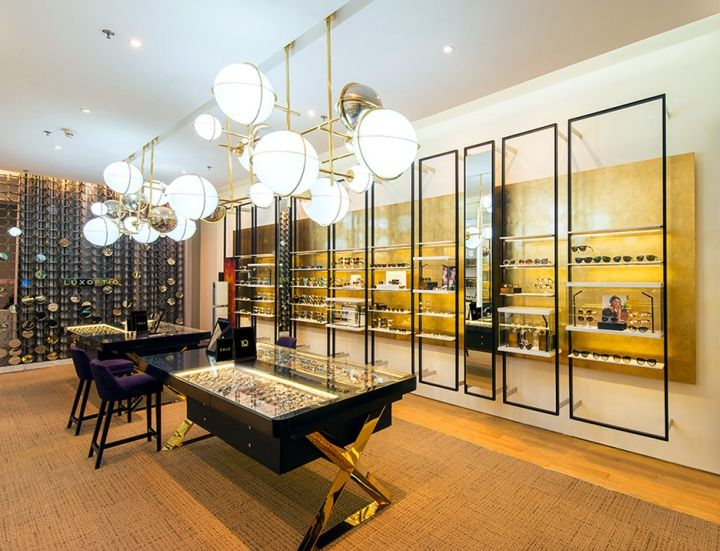 Luxoptiq Eyewear Store By Whitespace Bangkok Thailand Retail Design Blog