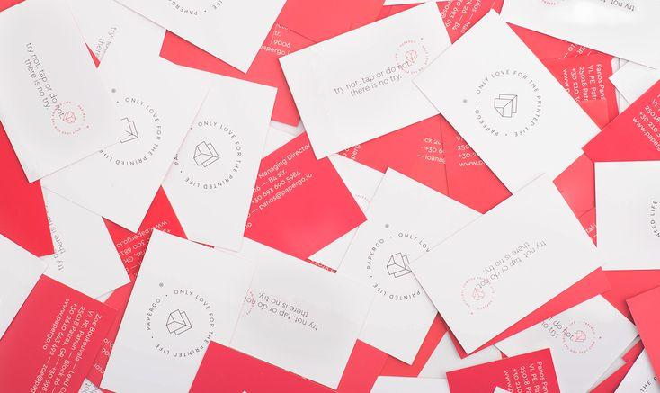 PaperGo Brand Identity on Behance