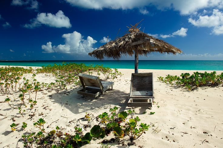 https://flic.kr/p/rhmEHK | Pink Beach, Barbuda, 2015 | Old ruined beach chairs on the deserted Pink Beach, Barbuda.