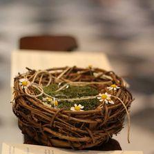 Cuscino fedi country chic | Wedding designer & planner Monia Re - www.moniare.com | Organizzazione e pianificazione Kairòs Eventi -www.kairoseventi.it
