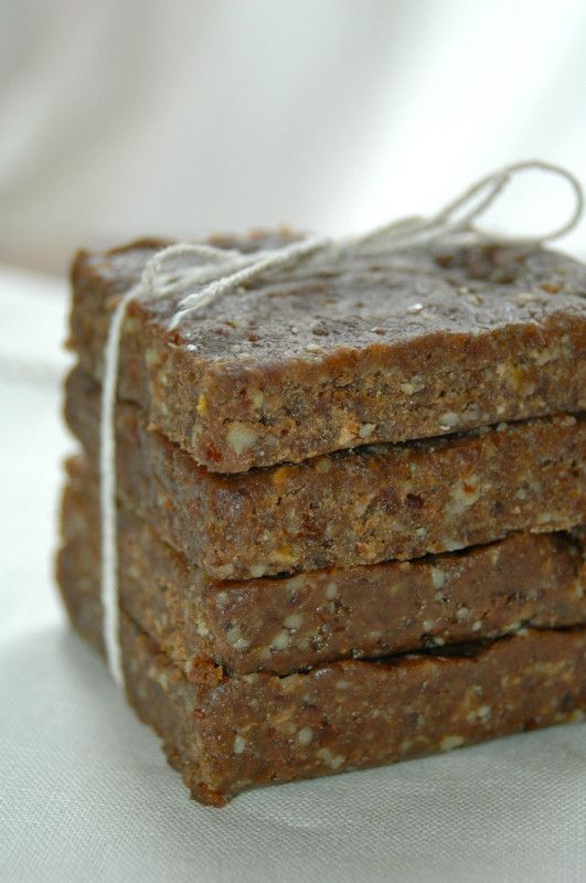 Chocolate Almond Butter Energy Bars