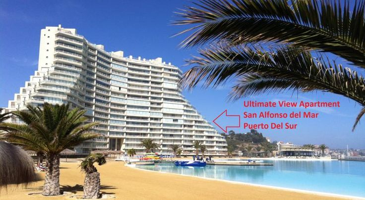 Ultimate View Apartment Algarrobo Located within the San Alfonso del Mar complex in Algarrobo, this apartment features an indoor style balcony as well as a sun terrace.  This fully-furnished apartment is fitted with a fully-equipped kitchen including a dishwasher.