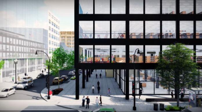 Mecanoo обновить библиотеку МЛК Вашингтона с массивной зеленой крышей | Inhabitat - зеленый дизайн, инновации, Архитектура, зеленое строительство