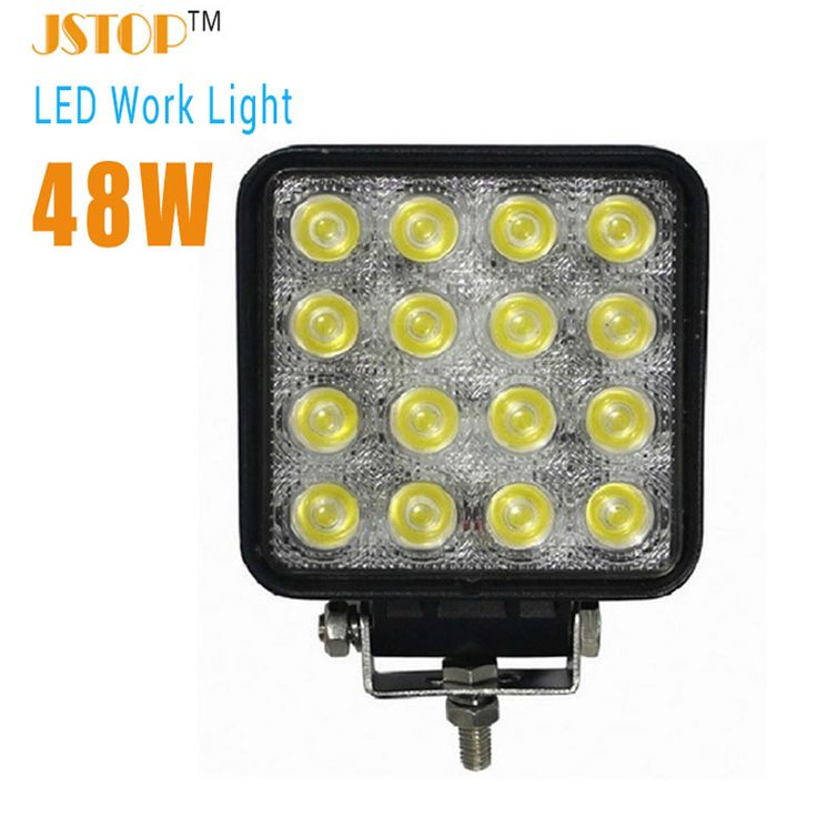 48W lamp working car bulbs truck lamp12v light  6000K car Light UTV suv working light led auto lamp car led light