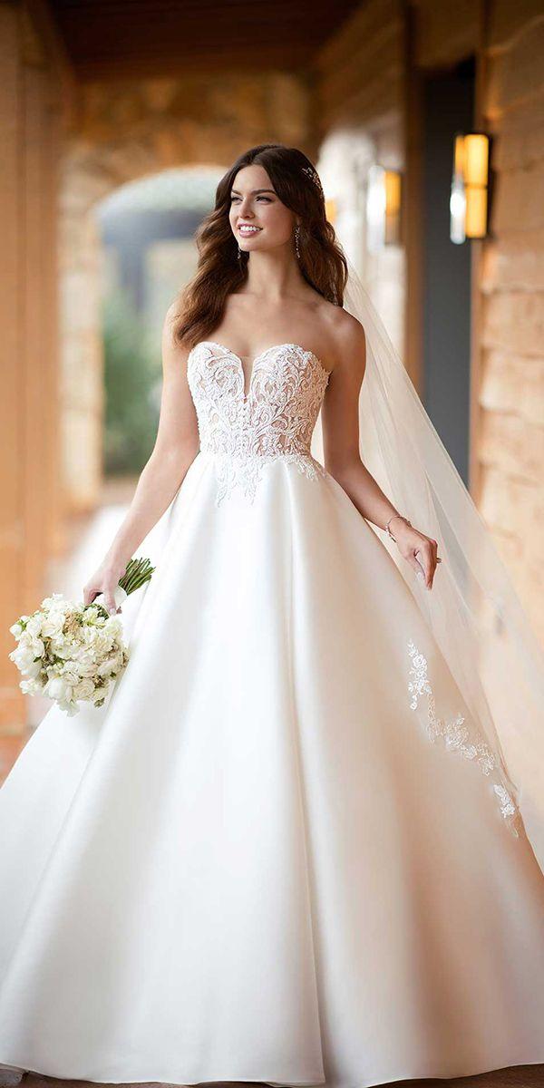 Essense Of Australia Wedding Dresses For Fall 2018 Wedding Dresses Guide Essense Of Australia Wedding Dresses Ball Gowns Wedding Wedding Dresses Strapless