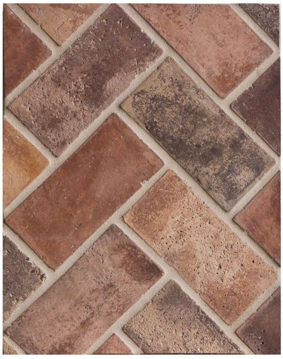 Brick Floor Tile picture 4x8 Smooth Brick Normandy Cream Signature Series Faux Brick Tile Can Be Used