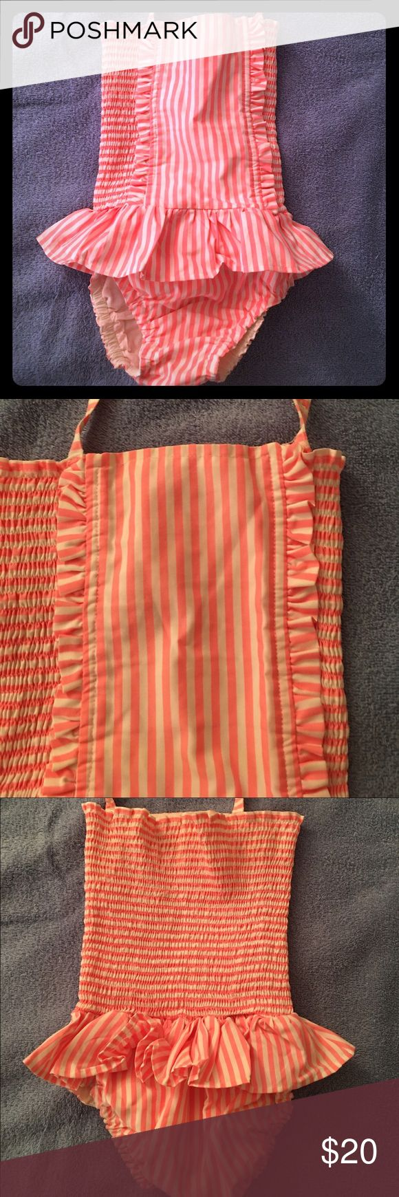 Rachel Riley Girl's Swimsuit, 3T. Rachel Riley Girl's Swimsuit, 3T.  Adjustable neck strap.  EUC.  Smoke free/Pet free home. Rachel Riley Swim One Piece