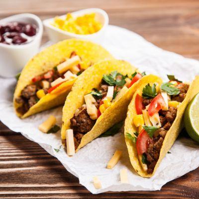 Del Taco Copycat Beef Tacos