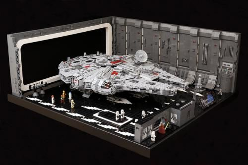 LEGO Set MOC-0631 Lego Docking Bay 327 for UCS Falcon - building instructions and parts list. Theme: Star Wars Episode 4/5/6; Year: 2013; Parts: 7805; Tags: mini moc star wars star wars episode 4/5/6