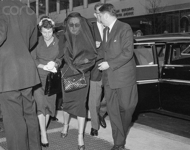 Joan Crawford Funeral