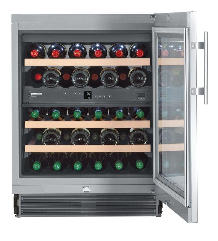 liebherr uwtes vinidor silver wine cooler