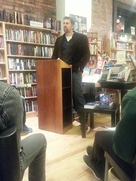 Kevin Lucia reading from his Things Slip Through collection.