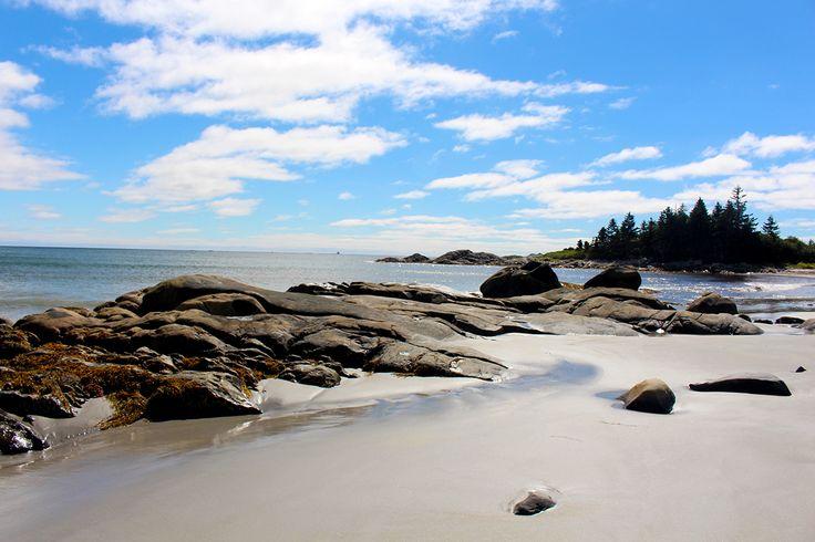 Carters Beach, Port Mouton, Nova Scotia, Kanada (SK-Foto D. Reichert) #Sandy Beach, #Coast, Carters Beach, #Port Mouton, #Nova Scotia, #Kanada