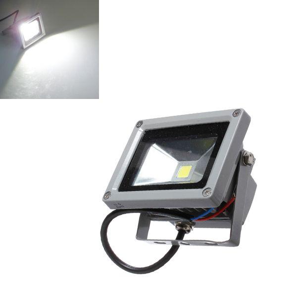 <b>10W</b> Pure White 900LM <b>LED Flood Light</b> Lamp Outdoor Waterproof ...