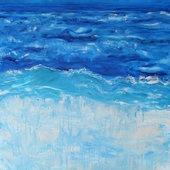 """Waters Edge"" by Carol Hazel on InteractiveArts.com.au $950"