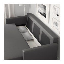 FRIHETEN Sofá cama 3 plazas, Skiftebo gris oscuro - - - IKEA