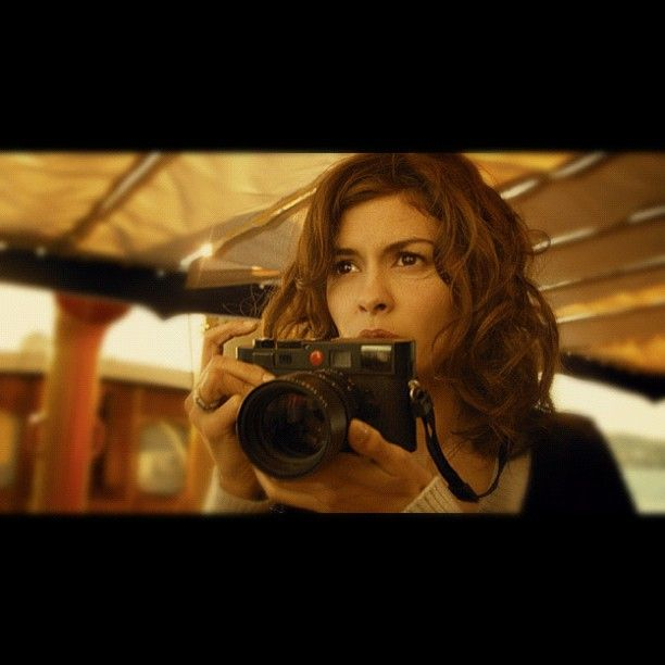 Andrey Tautou with her Leica M8 in the Chanel No. 5 advert. #Leica #LeicaM8