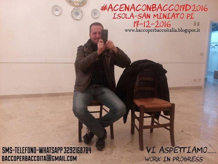 #AcenacoBacco17D2016 questa sera, tra i vari Organizzatori ci siamo ritrovati nella sala: In Piazza F.Turati 1 Isola #Sanminiato dove il prossimo #17dicembre2016 si terrà #evento Organizzato da #baccoperbaccoitalia Vi comunichiamo che praticamente è...